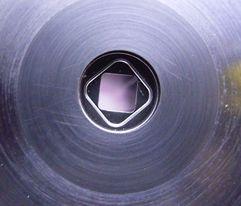 超硬合金への異形穴加工