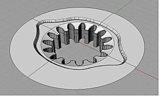 歯車形状金型サンプル