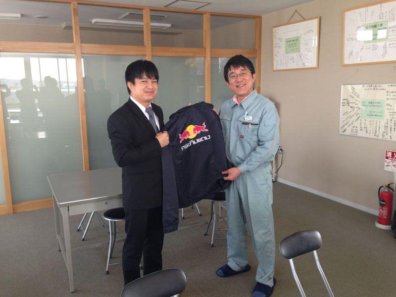 タイ国大手飲料メーカーT.C. Pharmaceutical社訪日視察団に来社いただきました