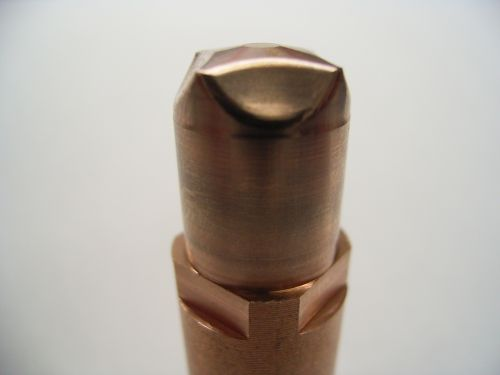 Difficult point of the sinker electric discharge machining to We-Co (Carbide)