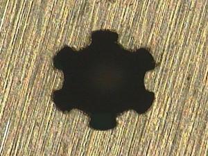 Heteromorphic Hole Processing