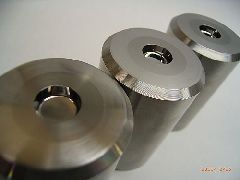 Punch for silver bimetal rivet Contacts