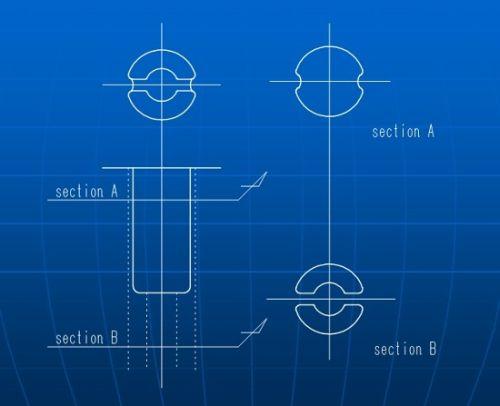 复杂形状零部件用模具