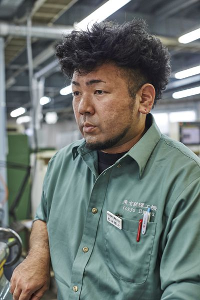 Manufacturing Department Mr. Matsunaga