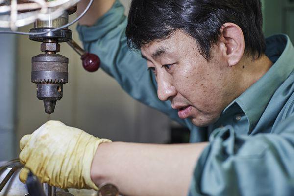 Manufacturing Department Mr. Hayashi
