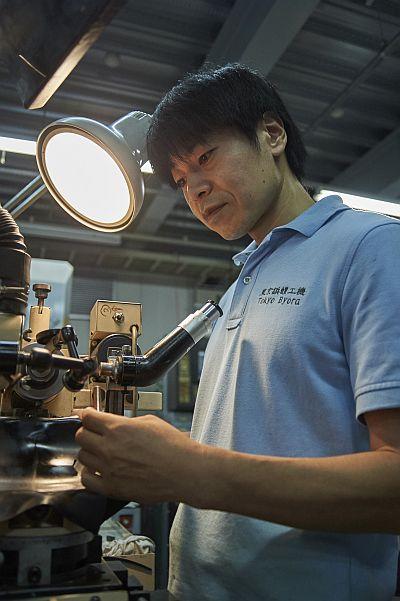 Manufacturing Department Mr. Komatsu